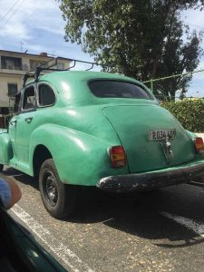 Old American vehicles are part of Cuba's charm