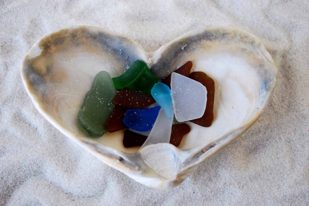 I Love Sea Glass