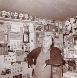 Bill Kane in The Nor'easter Shop, 1959
